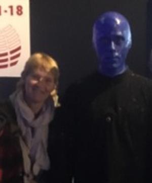 Weihnachten Alex Bohlig Blue Man Group Berlin Glückskämpfer e.V