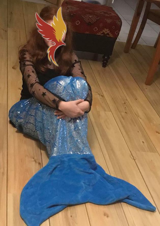 Weihnachten Meerjungfrau Decke Glückskämpfer e.V
