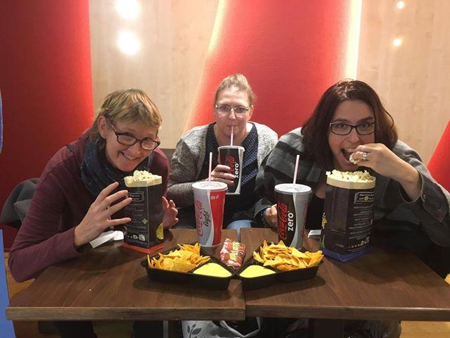 Glückskämpfer e.V. - UCI-Kinowelt - Bad moms 2, Anja, Alex, Nadine 1