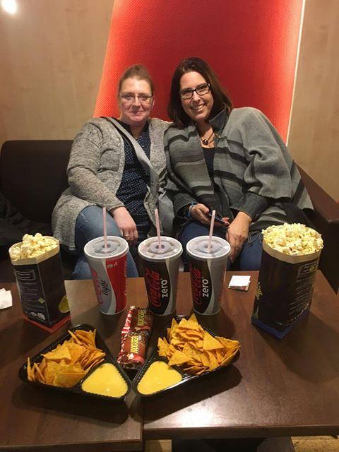 Glückskämpfer e.V. - UCI-Kinowelt - Bad moms 2, Anja, Nadine